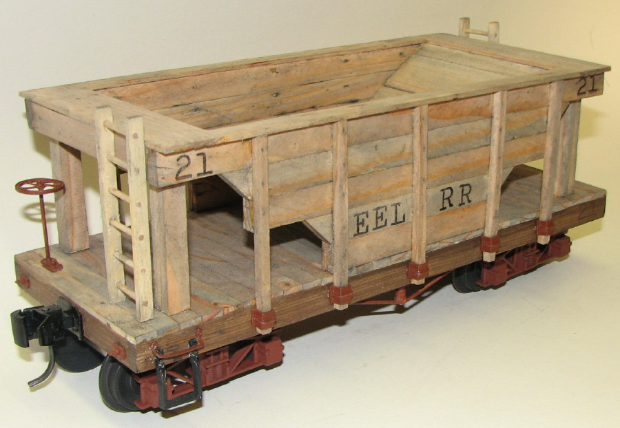 Wooden Rail Cars ~ Custom freight cars
